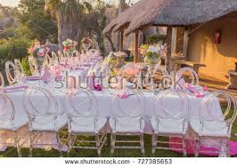event decorations bridal shower baby shower event decor stock photo 727385653