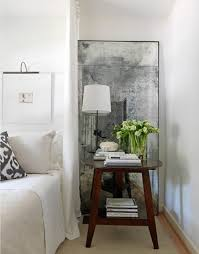 Bedside Table Ideas Mirror Bedside Table Alluring Home Tips Charming For Mirror