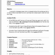 resume format for engineers freshers ece evaluation gparted for windows mba finance fresher resume format unique resume objectives for