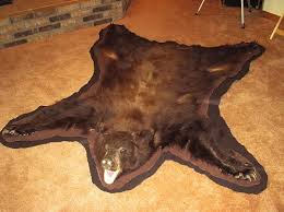 bear rug taxidermy work photos predator hunting calling