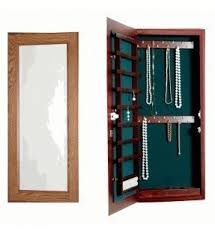 Jewelry Cabinets Wall Mounted by Jewelry Cabinet Wall Mount Mirrotek Combination And Makeup