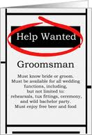 groomsmen invitations bridesmaids greeting cards