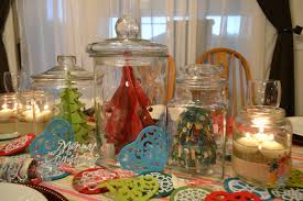 decorations lovely ornaments on jar for