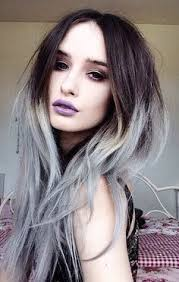 how to bring out gray in hair dip dye hair grey google search bring me the hairizon