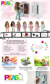 A Key To The Armoire Amazon Com 18 Inch Doll Dream Lot Furniture Armoire Closet