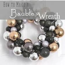 best 25 bauble wreath ideas on diy wreath hanger