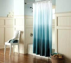 Side Window Curtains Window Curtains With Beach Scene Fashionable Coastal Shower To