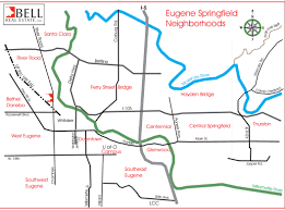 Springfield Map Eugene Springfield Oregon Real Estate For Sale