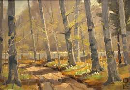 famous paintings of trees surreal art piet mondrians abstract