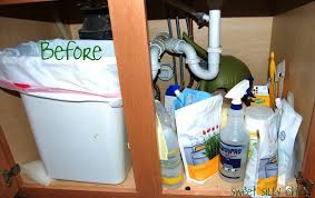 Organizing Under Kitchen Sink by January 2013 Sweet Silly Chic