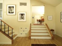 Staircase Wall Ideas Stairs Wall Decoration Ideas Staircase Contemporary With Wooden