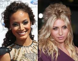 half up half down quiff hairstyles celebrity inspired hairstyles for naturally curly hair