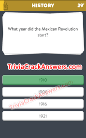 what year did the mexican revolution start