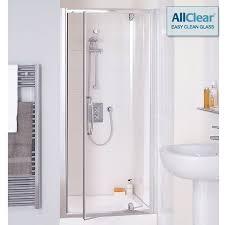 Shower Door Pivot Lakes Classic Semi Frameless Pivot Shower Door 800mm Lkvp080 05