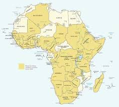map of africa with country names list of countries black history fandom powered by wikia