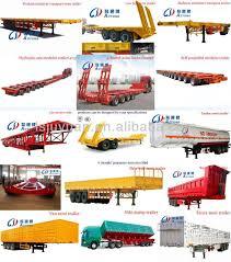 double axle 30 ton skeleton or platform semi trailer truck trailer