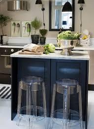 cuisine contemporaine design chaises de bar dans la cuisine contemporaine 18 idées cool