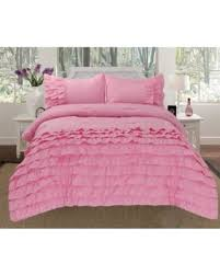 Ruffled Bed Set Amazing Deal On Empire Home 3 Katy Pleated Ruffled Comforter