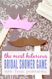 bridal shower groom questions fun bridal shower games mustaches and tiaras with free printables