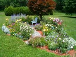winsome ideas how to design a flower garden layout flower bed