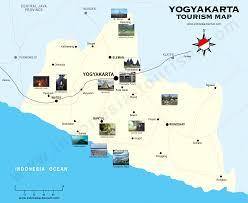 Map Java Yogyakarta Map Jogjakarta Map Peta Jogja Peta Yogya Java