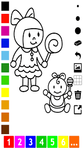family coloring book children learn draw color grand