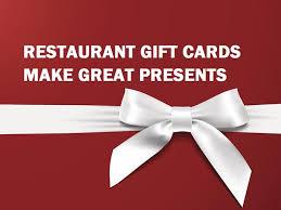 best deals on gift cards best restaurant gift card deals around this season