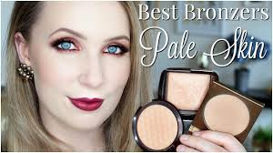 best bronzer for light skin best bronzers for pale skin youtube