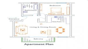 well suited one bedroom design layout 16 nice realistic layout for