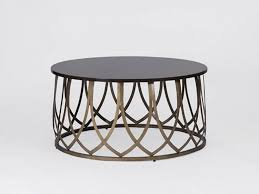 Hammered Metal Table L Furnitures Metal Coffee Table Awesome Rotonde Silver
