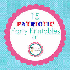 15 patriotic party printables