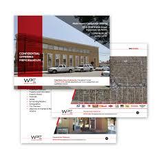 Real Estate Brochure Design Templates by Commercial Real Estate Offering Memorandums Ml Jordan