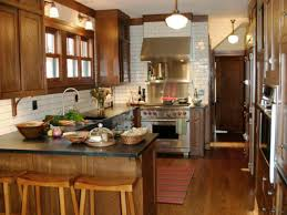Galley Kitchen With Island Floor Plans Kitchen Layout Templates 6 Different Designs Hgtv