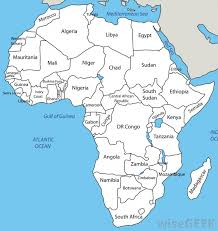 africa continent map who are the bushmen with pictures