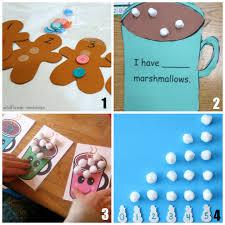 12 of the best preschool math activities for winter