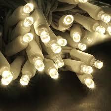 led polka dot 70 string light set warm white w white cord led