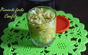de recette de cuisine familiale piments forts confits recette familiale cuisine de zika