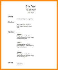 Chronological Format Resume Sample by Download Blank Resume Haadyaooverbayresort Com