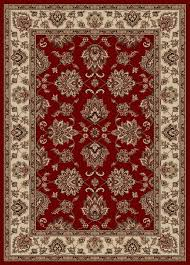 traditional rugs deep red with light brown combined floral pattern