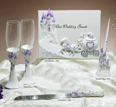 guest book and pen cs lilac cindcastle set wf wedding reception accessories