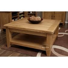 rustic oak coffee table vancoouver rustic oak large square coffee table best price guarantee
