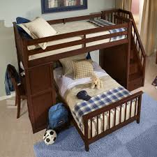 ne kids highlands full loft bed hayneedle