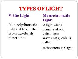 Monochromatic Light Chapter 6 Spectrum Ppt Video Online Download