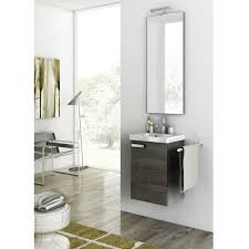 bathroom 15 inch depth bathroom vanity with wallmount design 15