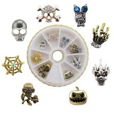 compare prices on metal halloween nail art online shopping buy