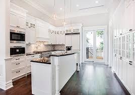 White Kitchen Design Images 27 Beautiful White Contemporary Kitchen Designs Designing Idea