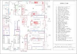 equipement electrique cuisine plan type cuisine de restaurant idée de modèle de cuisine
