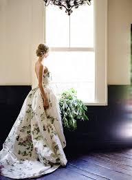 Green Wedding Dresses The 25 Best Floral Wedding Dresses Ideas On Pinterest