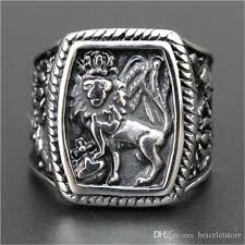 king and crown wedding rings newest boy cool king ring 16l stainless steel top selling