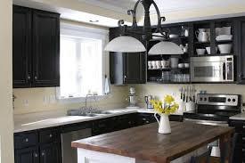 painted black kitchen cabinets remodelaholic dark kitchen cabinet inspiration and design tips